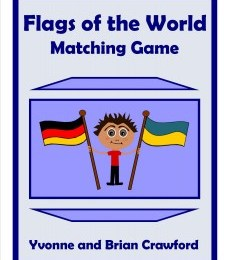 Free Flags of The World Printable Matching Game