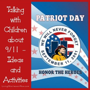 Talking With Children About 9-11 Ideas & Activities