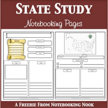 Notebooking: Free State Study Notebooking Pages