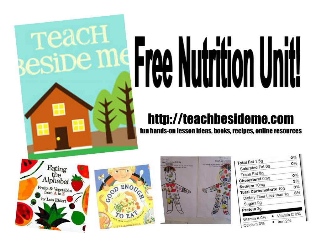 Free Food And Nutrition Unit Study