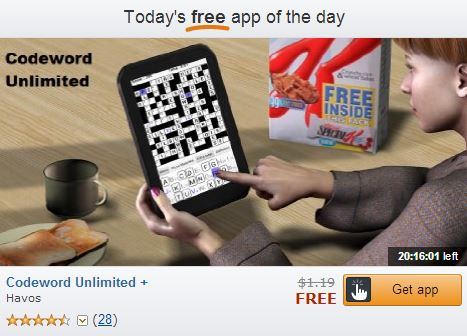 Codeword Free App of the Day
