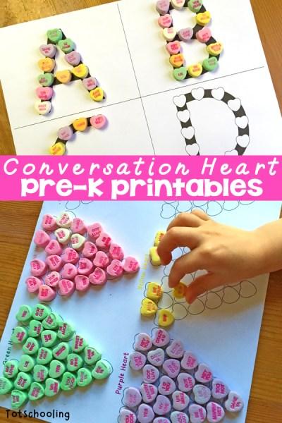 Conversation Hearts Printable