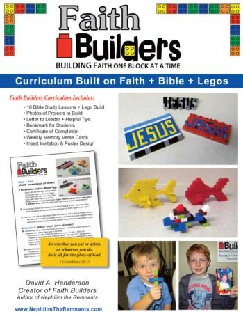 Faith Builders LEGO