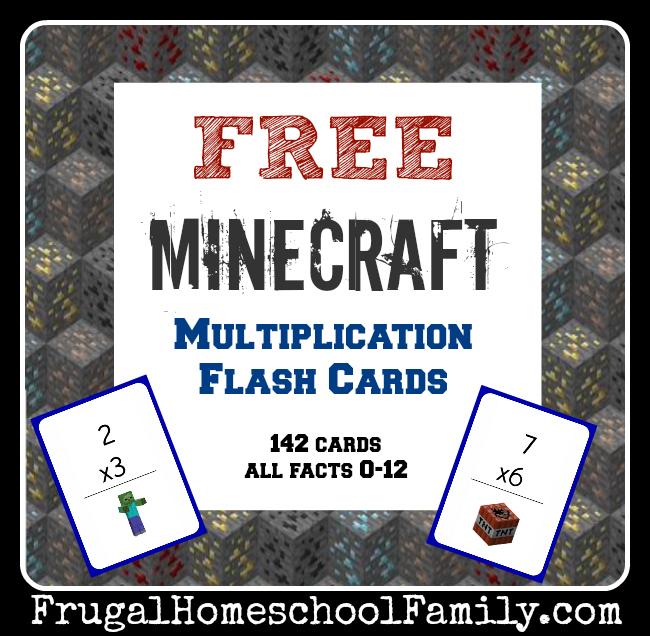 multplication flashcards