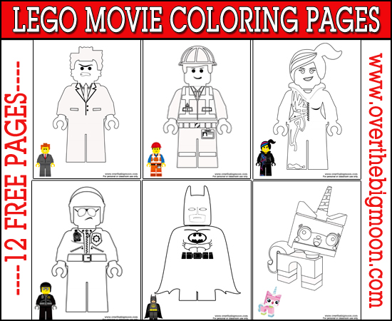 Free Lego Movie Coloring Pages | Free Homeschool Deals ©
