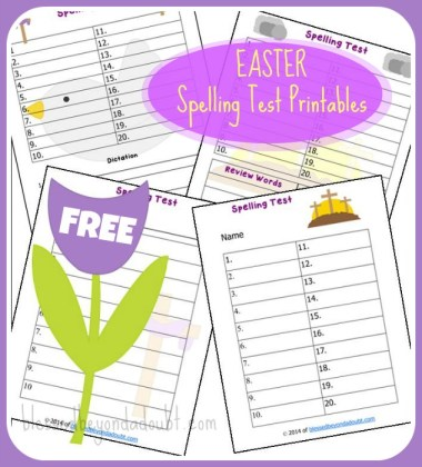 Resurrection Day Spelling Tests