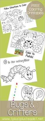Bugs-Coloring-Printables