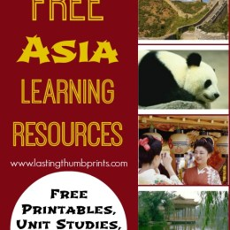 FREE Asia Unit Study Resources