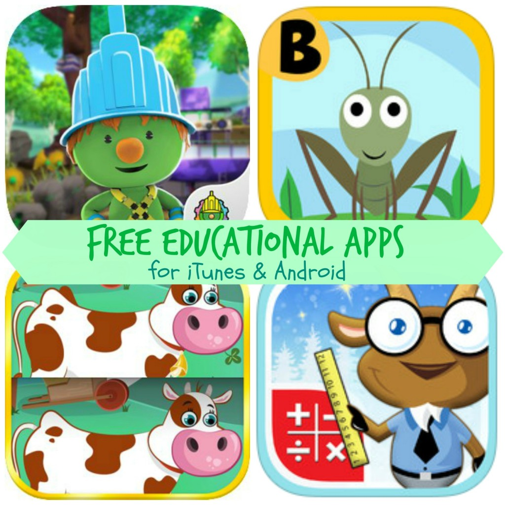 Free Educational Apps For Kids Doozer Creek