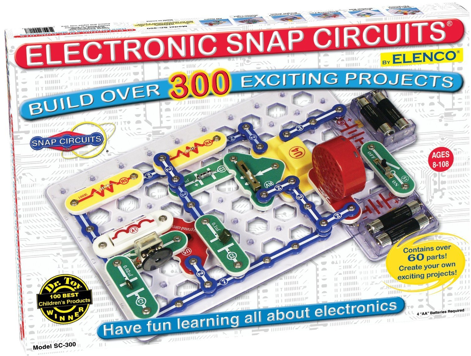 Elenco Snap Circuits Physics Kit Including Over 300 Projects Free Shipping