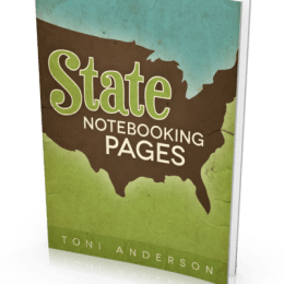 FREE State Notebooking Pages Ebook