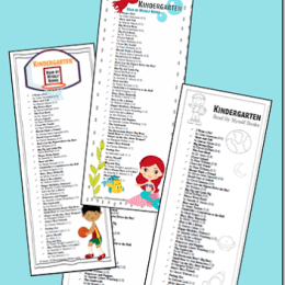 Books Kindergarteners can Read Alone FREE Printables