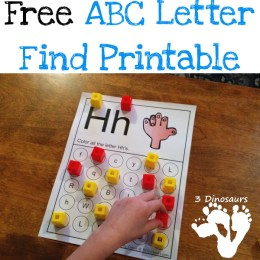 FREE ABC Letter Find Printable