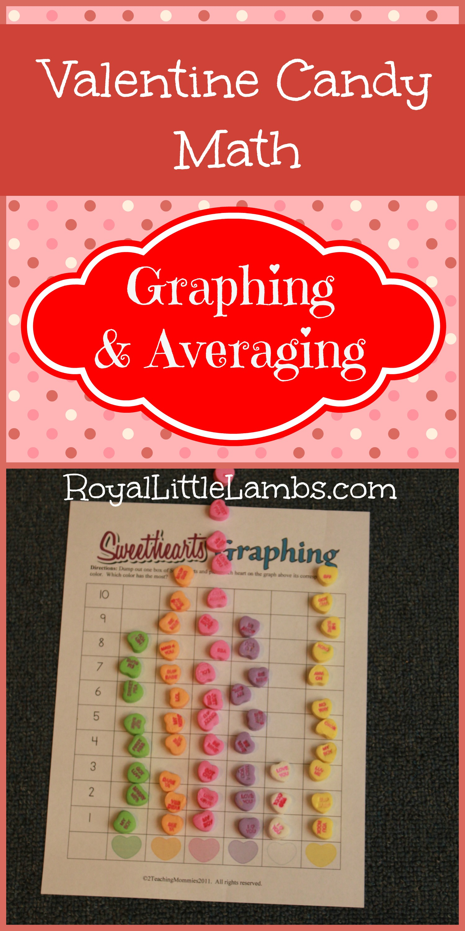 Valentines Candy Math Worksheet Subscriber Freebie