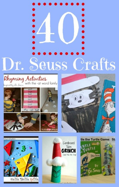 40 Dr. Seuss Crafts