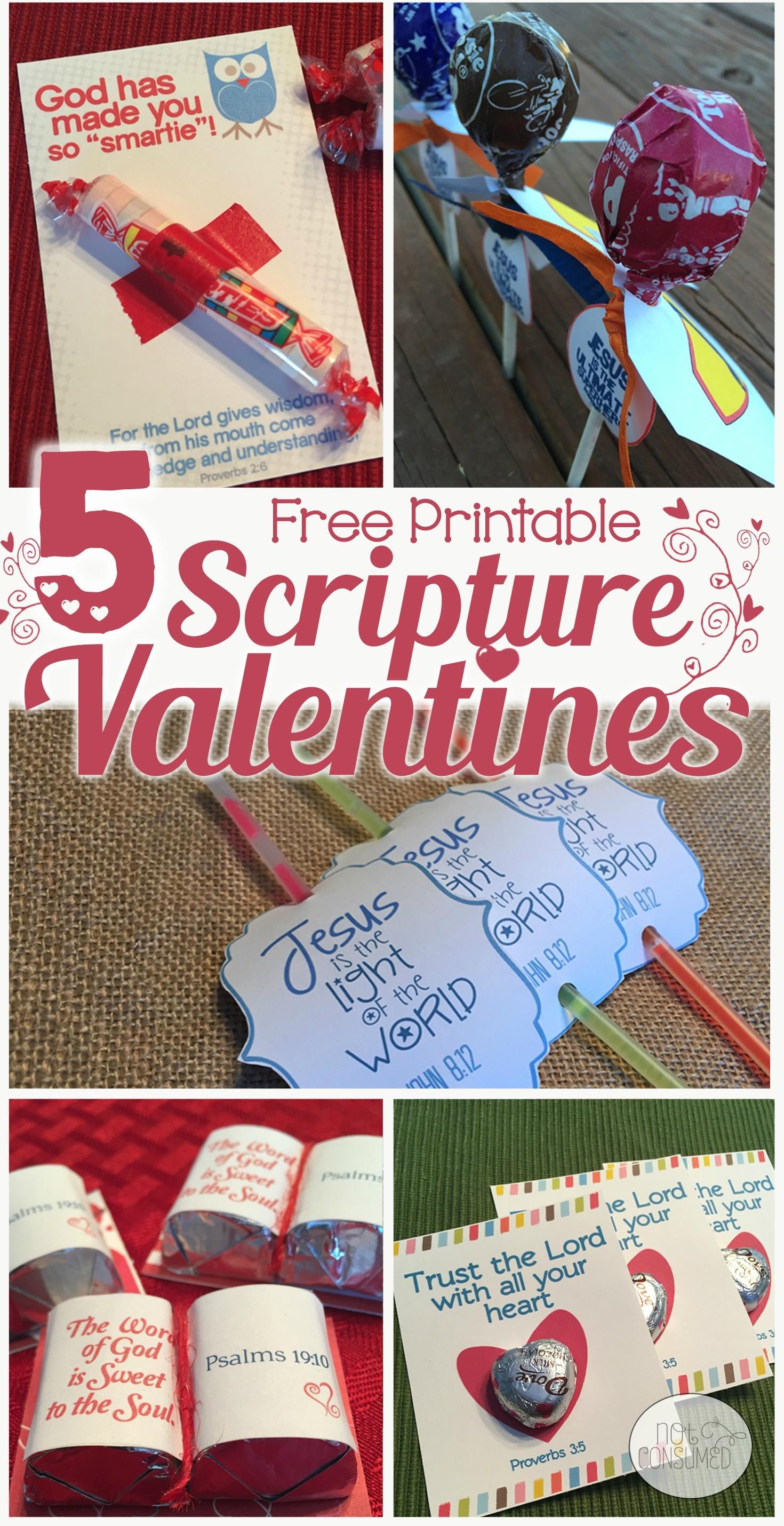 Free Valentines Scripture Card Printables