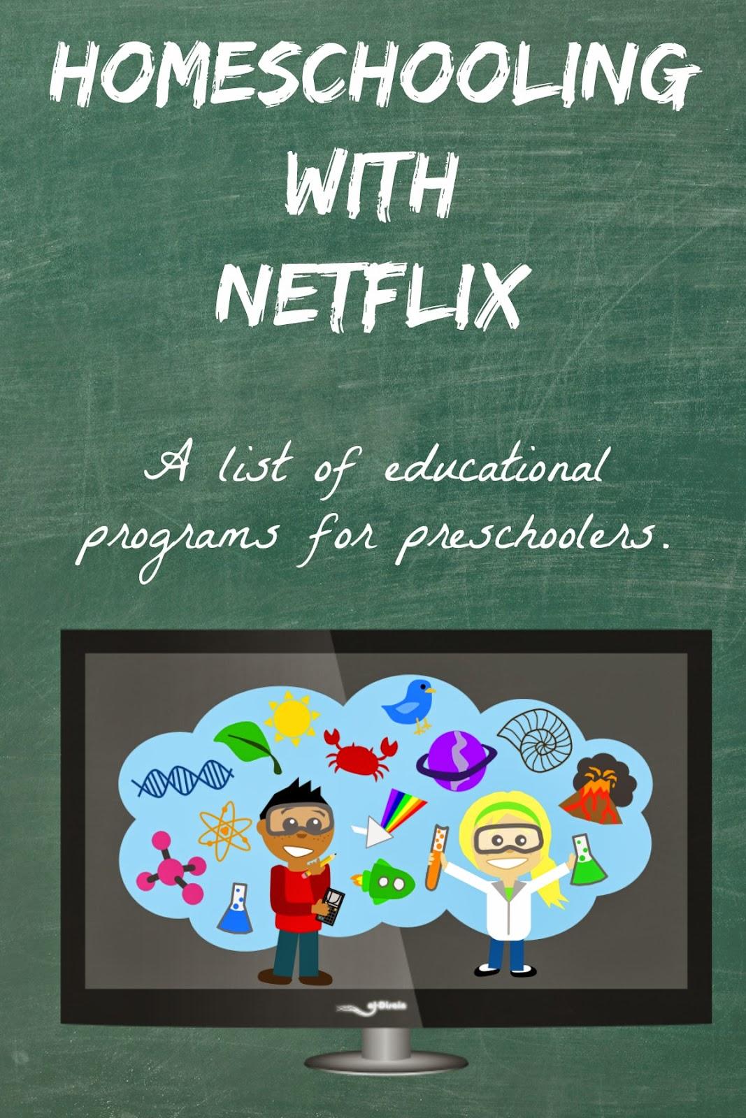 Free Homeschooling With Netflix Printable List