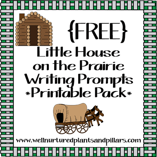 FREE Little House on the Prairie Writing Prompts