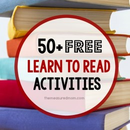 FREE 50+ Reading Activities and Resources