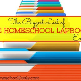 The BIGGEST List of FREE HOMESCHOOL LAPBOOKS – Ever!
