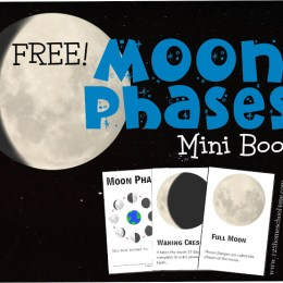 FREE MOON PHASES MINI-BOOK (instant download)