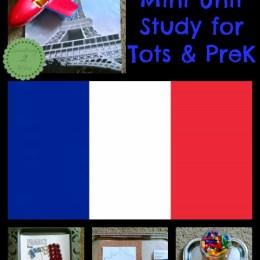 FREE France Mini-Unit Study for Tots