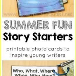 FREE Printable Story Starter Pack