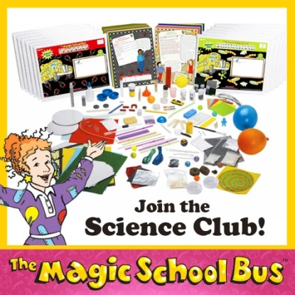 Magic School Bus Science Club Subscription Only $108!