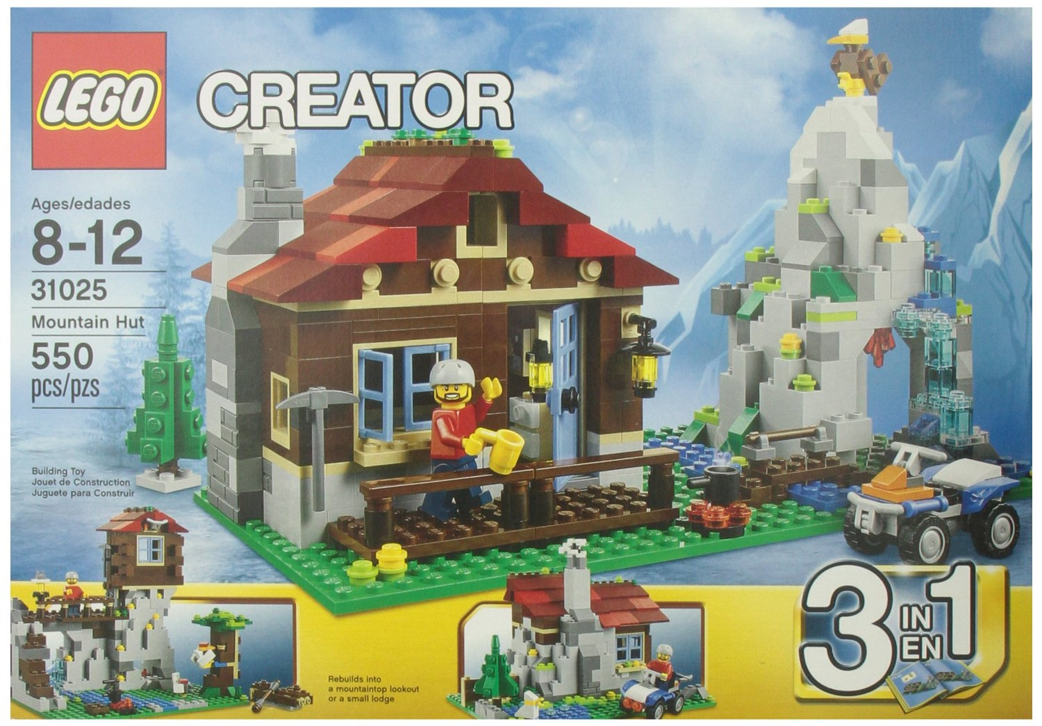 Lego Creator Mountain Hut Only 28 79 Reg 40