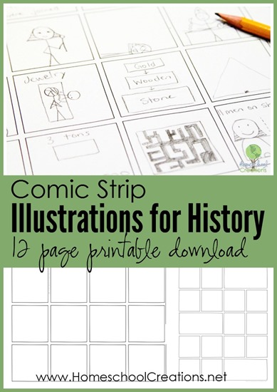 FREE Comic Strip History pages