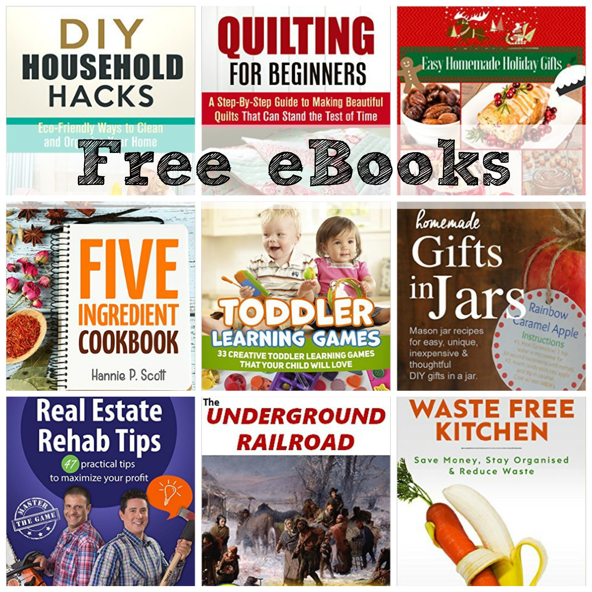 Free Ebooks Toddler Learning Games Rosa Parks Waste Free Kitchen More