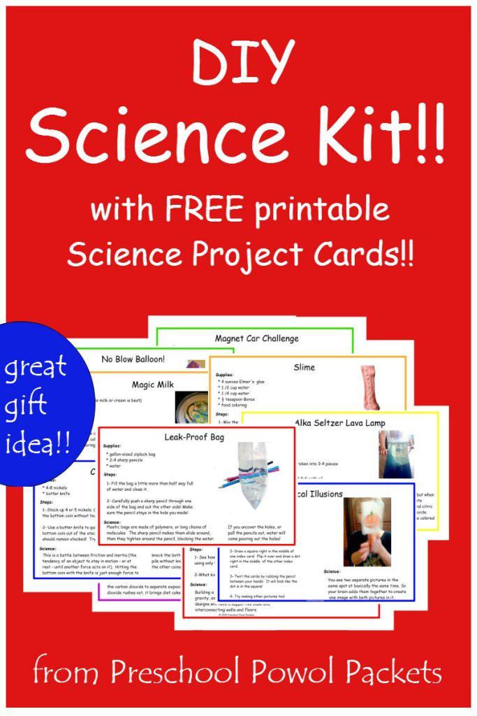 FREE Science Preschool Pack