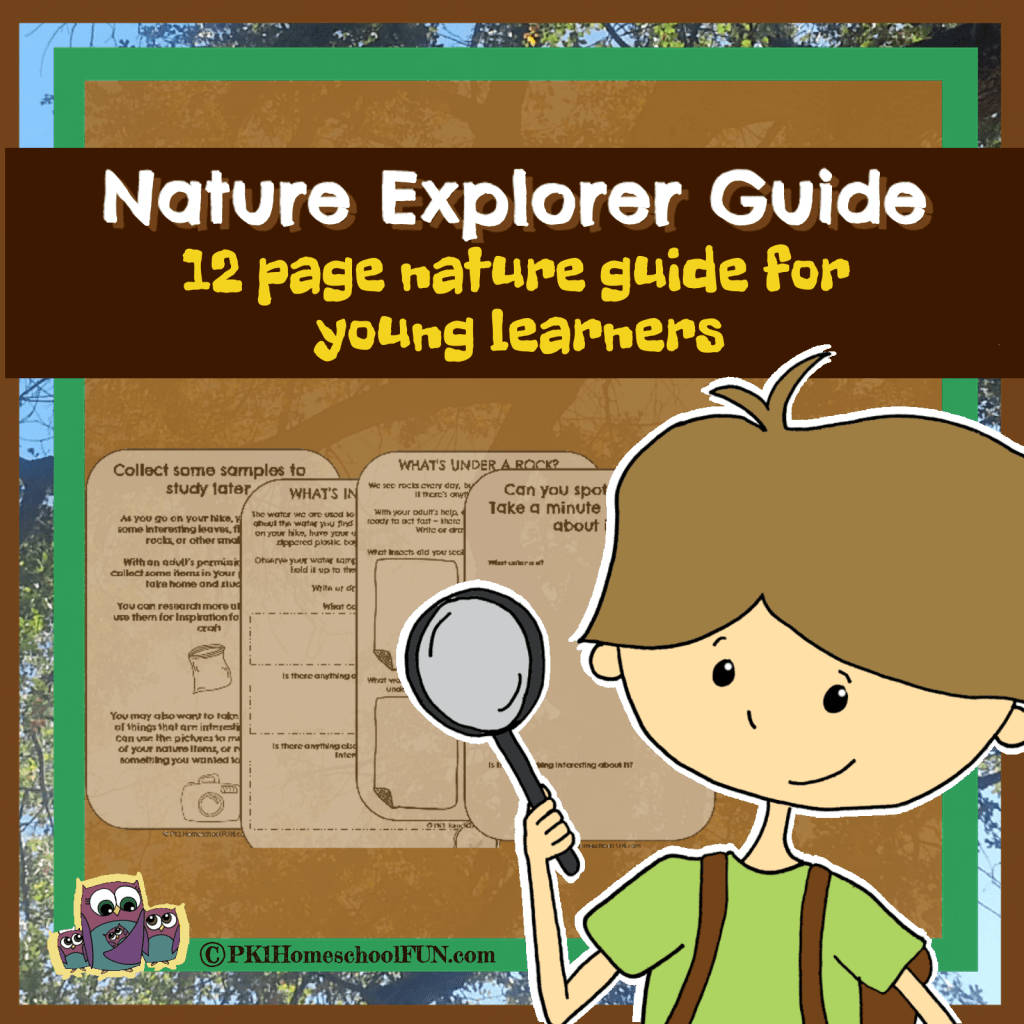 Free 12 Page Nature Explorer Guide