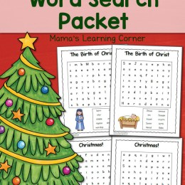 FREE Christmas Word Search Pack