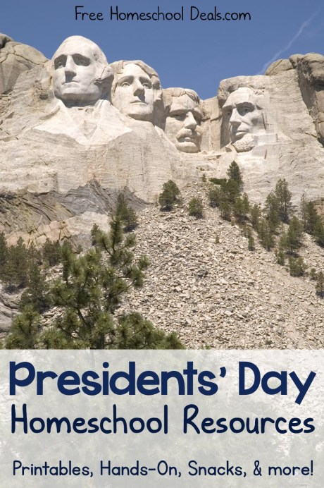 Presidents' Day Resources for Your Homeschool!