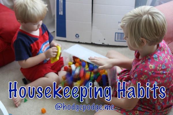 Housekeeping Habits