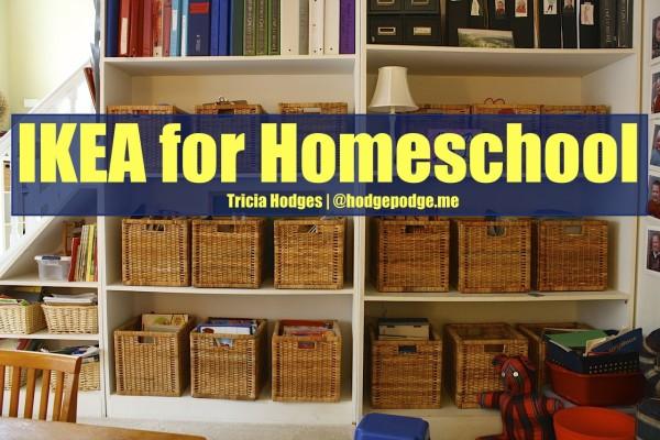Ikea for Homeschool Spaces