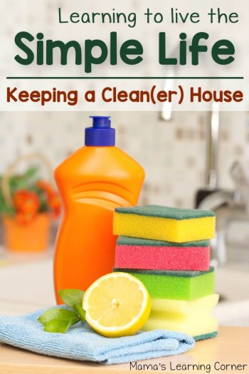 Learning to Live the Simple Life: Keeping a Clean House