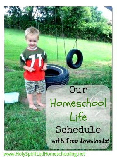 Our Homeschool Life Schedule