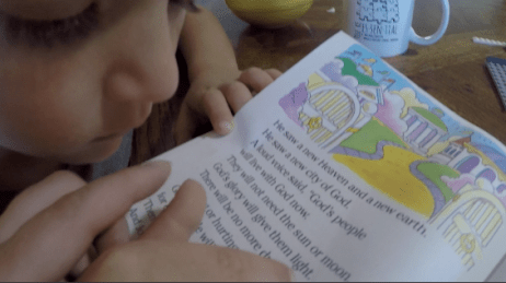 Homeschool Day in the Life: Family Bible Time, Homeschooling Routines, + More!