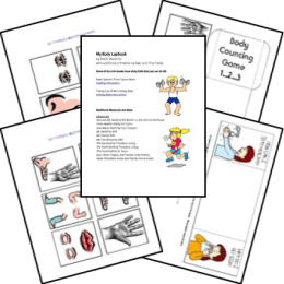FREE My Body Lapbook for Preschool and Early Elementary