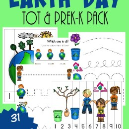 FREE Earth Day Tot and PreK Pack