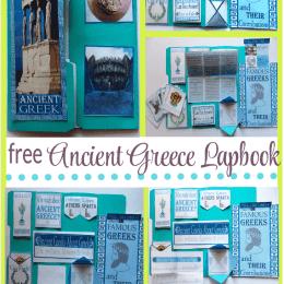 FREE Ancient Greece Lapbook