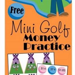 FREE Mini Golf Money Practice