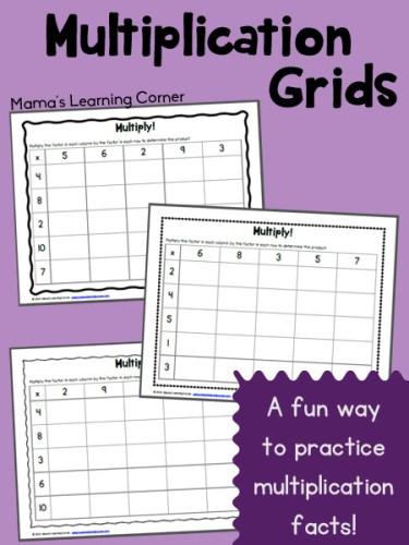 Multiplication Grids