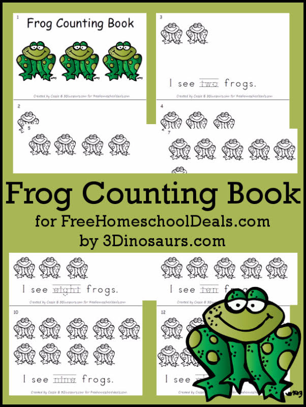 Frog Counting books