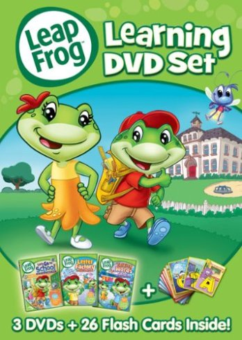 LeapFrog Learning DVD Set Only $9.96! (50% Off!)