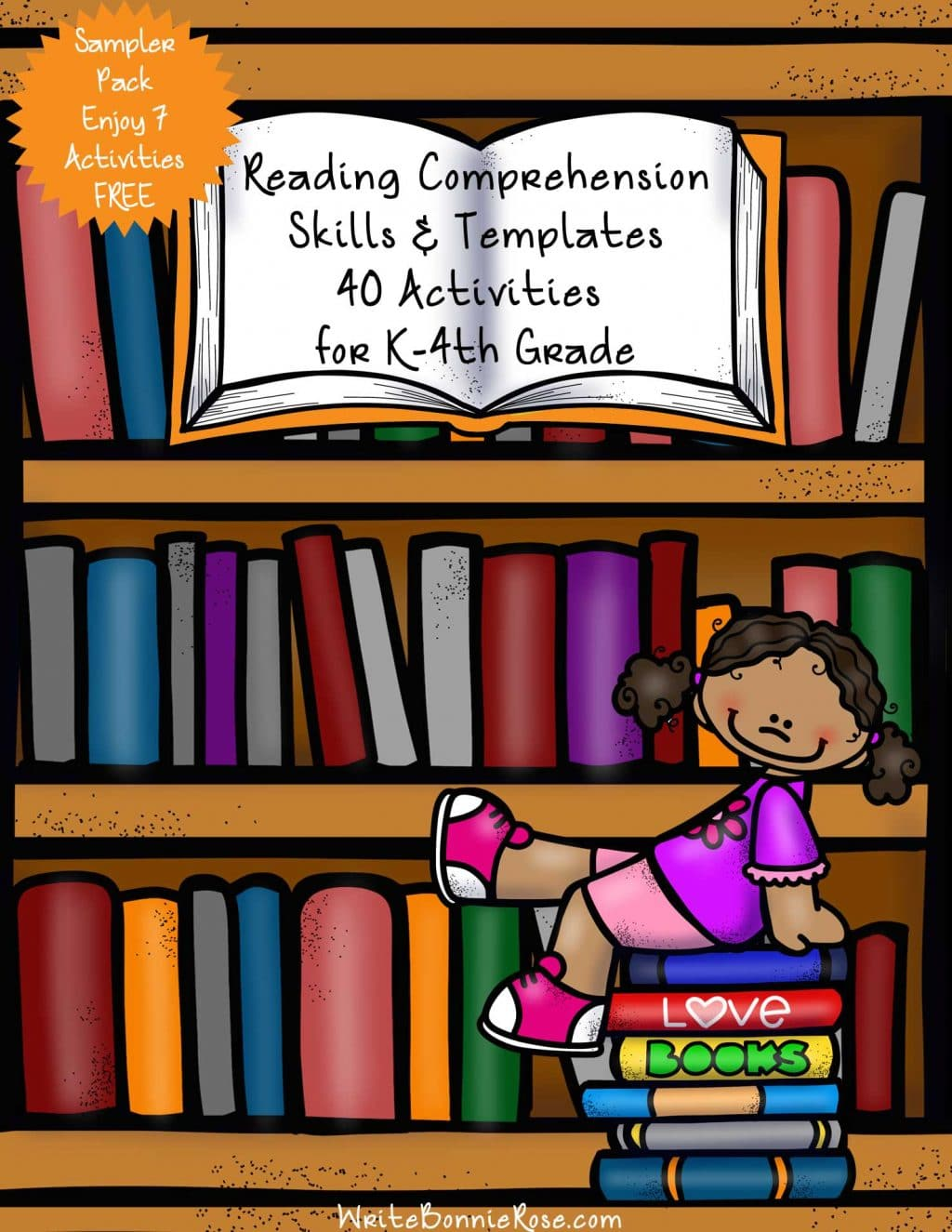 Free Reading Comprehension Skills Pack