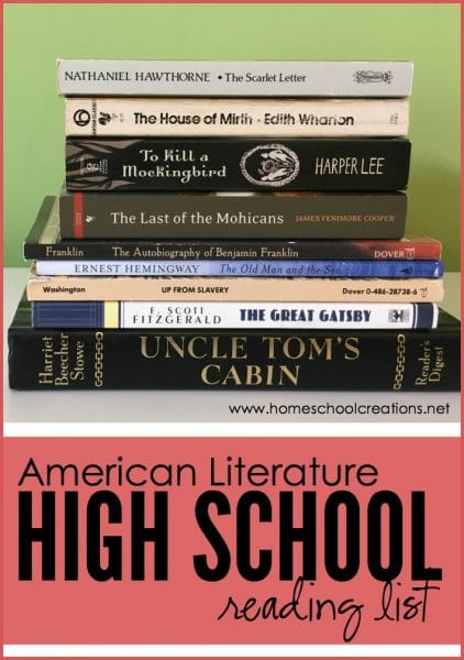 FREE American Literature Reading List