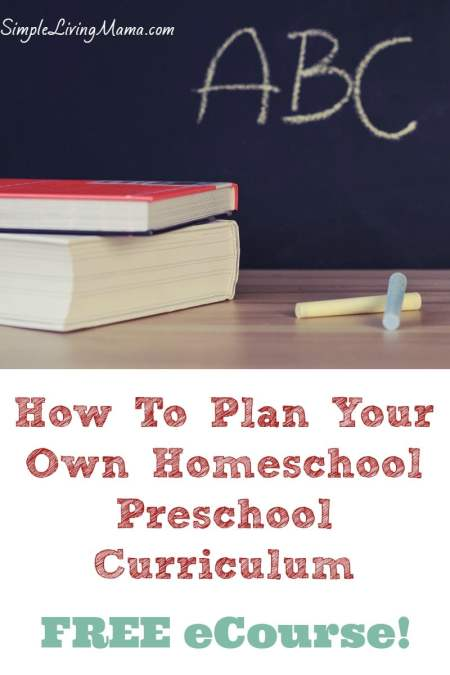 FREE Homeschool Planning eCourse
